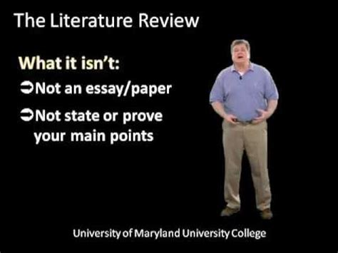 What Is a Literature Review? - Nova Southeastern University